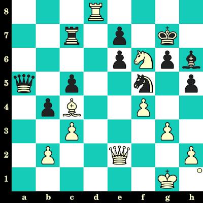 Les Blancs jouent et matent en 2 coups - Magnus Carlsen vs Zurab Azmaiparashvili, Khanty Mansyisk, 2005