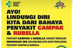 Ayo, Imunisasi MR (Measles dan Rubella) Bulan Agustus dan September