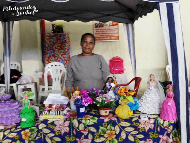 artesanato, bonecas de eva, canetas decorativas, pregadores de eva, expo bem estar tamoios, ciana andrade