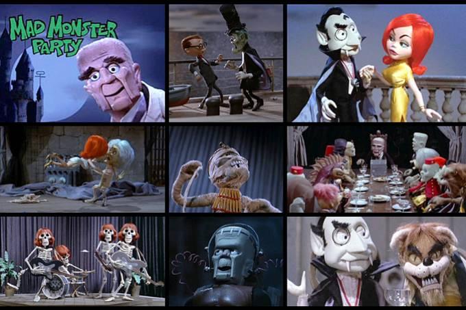 Animação em Foco: A FESTA DO MONSTRO MALUCO (Mad Monster Party) 1967