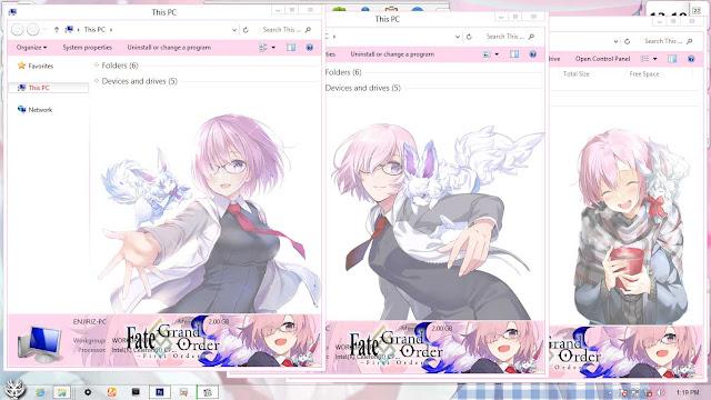 Fate/Grand Order: First Order Theme Win 8/8.1 by Enji Riz Lazuardi