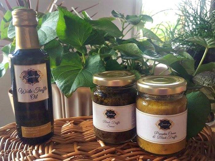 מוצרי כמהין – פיטריות, מחיות ושמן כמהין