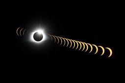 99年ぶりの天体ショー 皆既日食