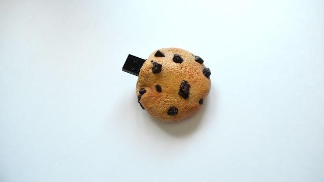 pendrive arcilla polimérica galleta cookie