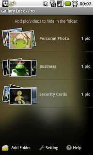 Hide your privacy pic/videos with Gallery Lock