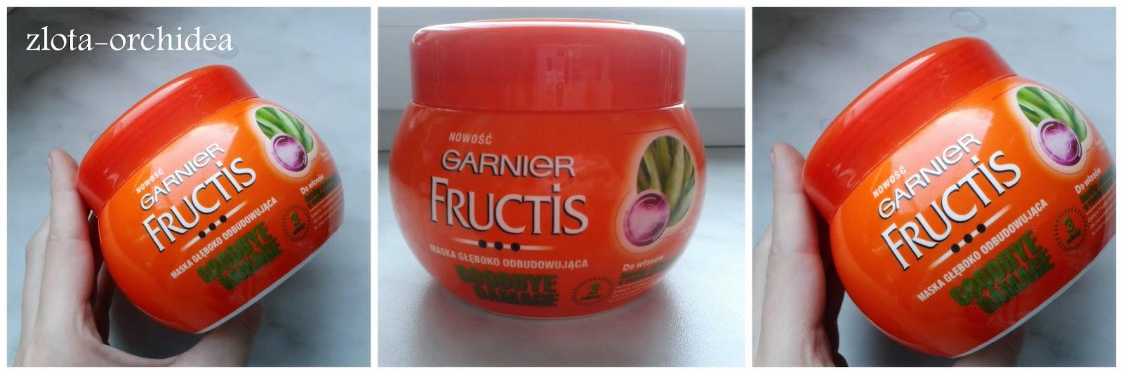 Maska głęboko odbudowująca Garnier Fructis-Goodbye Damage