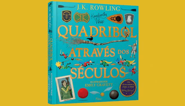 Livro ilustrado de 'Quadribol Através dos Séculos' será lançado em outubro; pré-venda já começou! | Ordem da Fênix Brasileira
