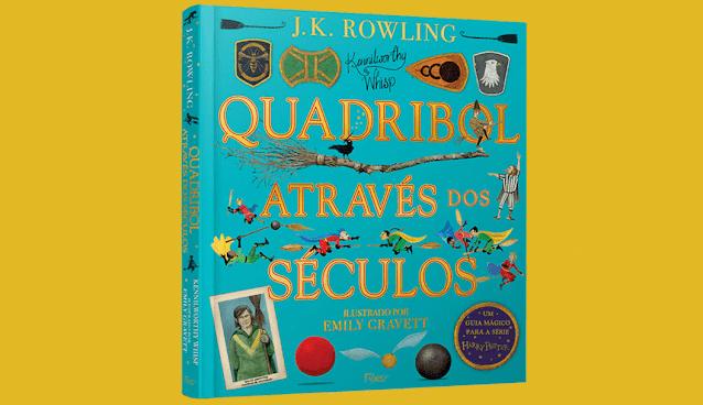 Confira os detalhes da nova edição ilustrada de 'Quadribol Através dos Séculos' | Ordem da Fênix Brasileira
