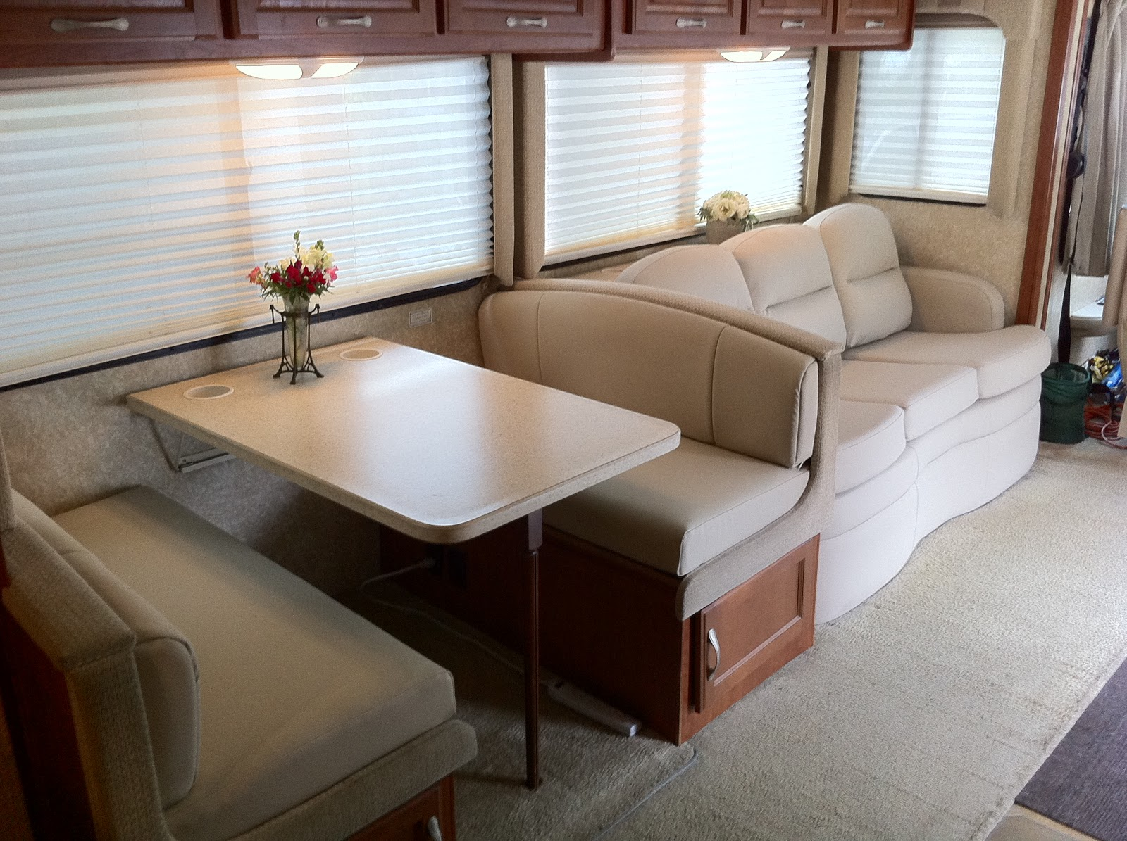 Homestyle Custom Upholstery And Awning Rv Interior Recovered