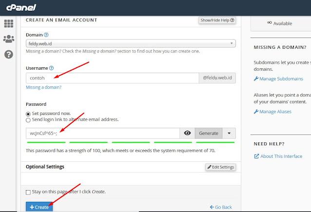 Cara Membuat Akun Email di cPanel.