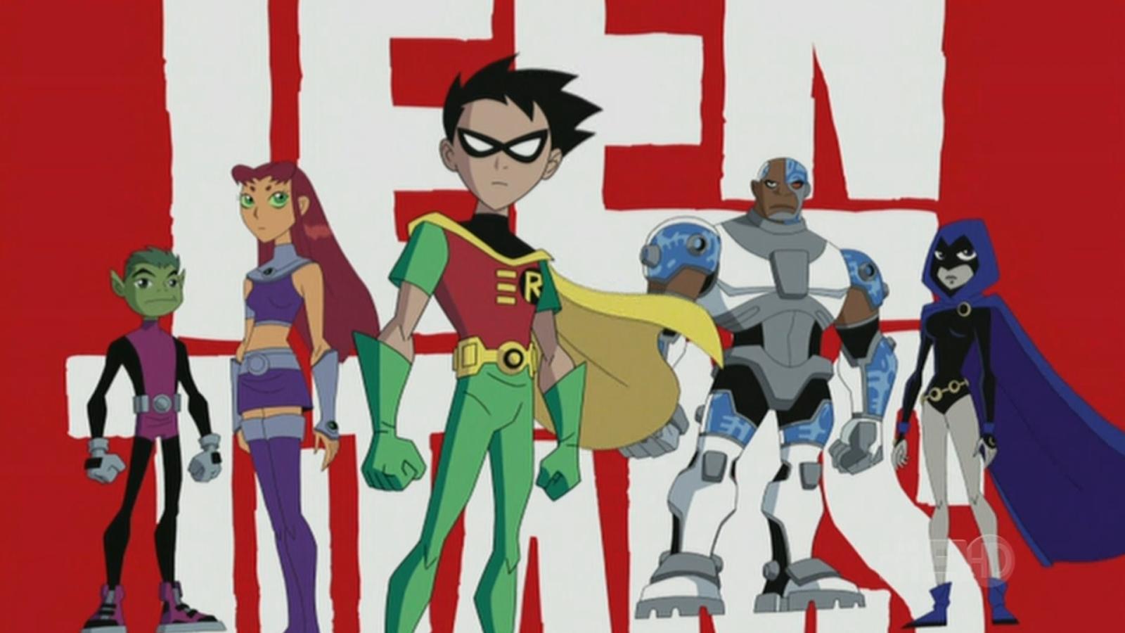 Teen Titans English Dub