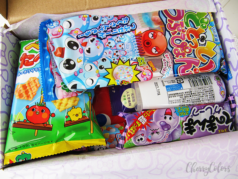 Japan Candy box 2016