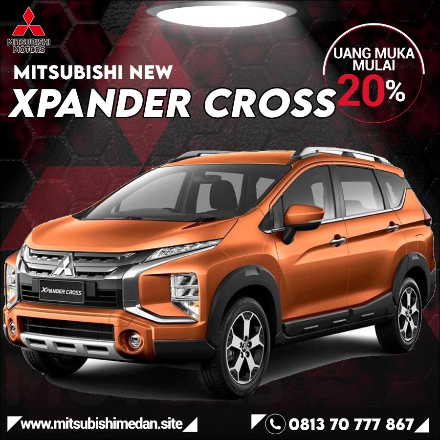 Harga Mitsubishi Xpander Cross Medan