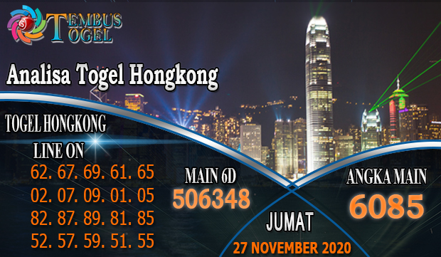 Analisa Togel Hongkong Hari Jumat 27 November 2020