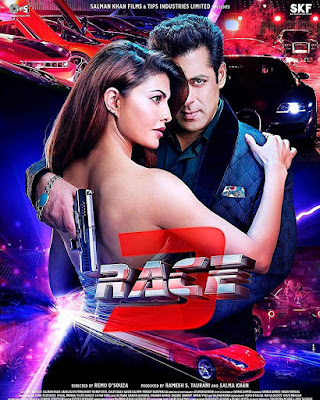 Race 3 2018 Hindi Pre-DVDRip 1.4Gb x264 New