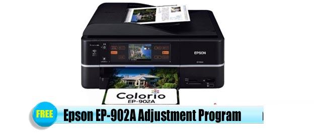 Epson EP-902A Adjustment Program
