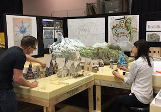 Frozen Disney Parks Land Scale Model