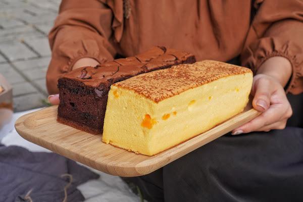 高雄前鎮區美食【橘香合 蛋糕職人 高雄店】餐點介紹 金莎現烤蛋糕
