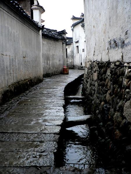 หมู่บ้านหงชุน (Hongcun Ancient Village: 宏村)