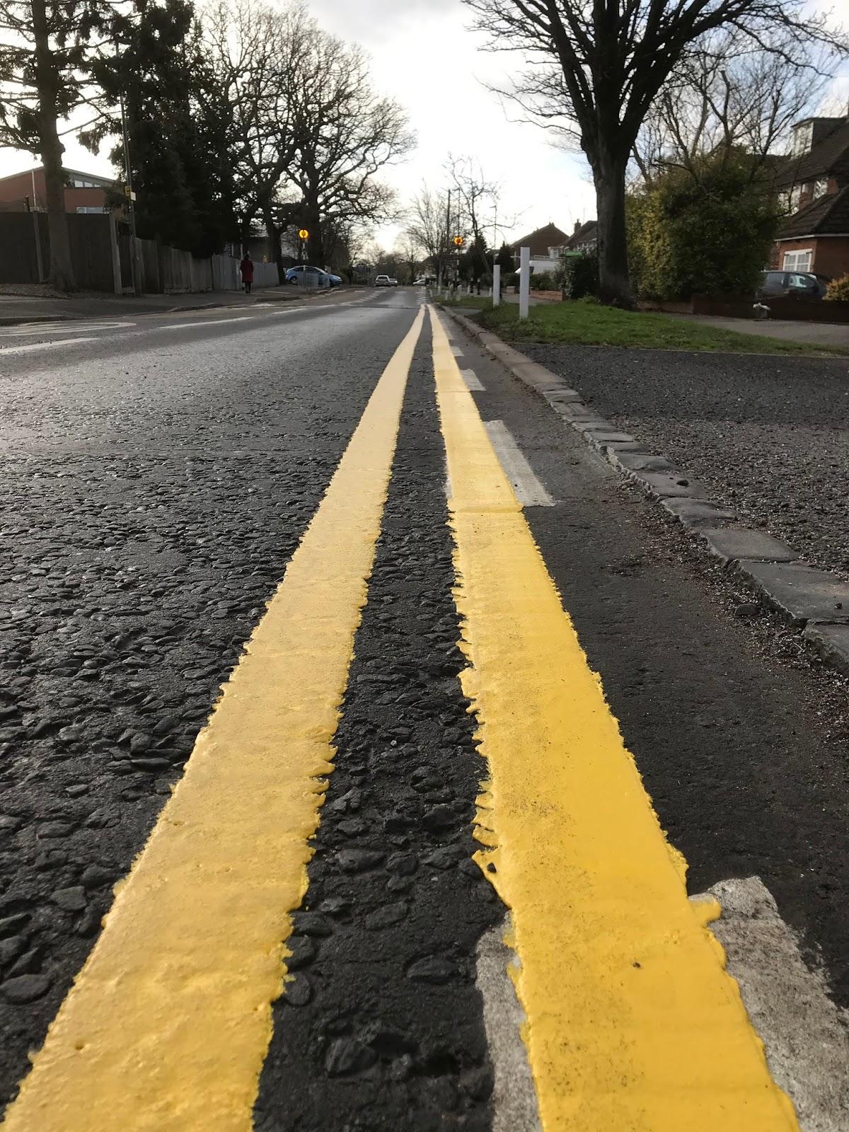 Double yellow lines on Shawhurst Lane outside of schools