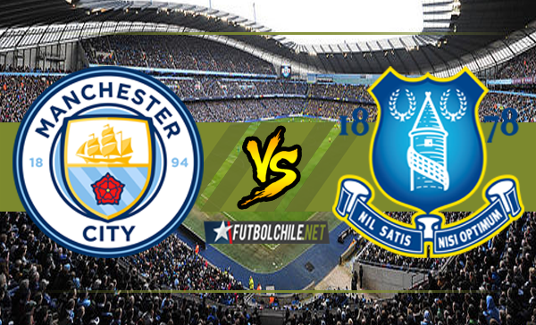 Manchester City vs Everton Inglaterra