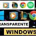 Como Deixar o Windows Transparente - Transparent Taskbar