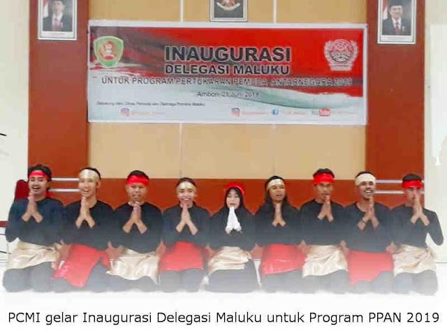 PCMI gelar Inaugurasi Delegasi Maluku untuk Program Pertukaran Pemuda Antar Negara (PPAN) 2019