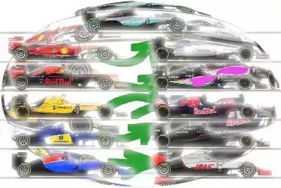 coches f1 flechas