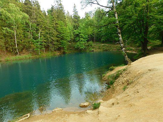 Jeziorko Błękitne.