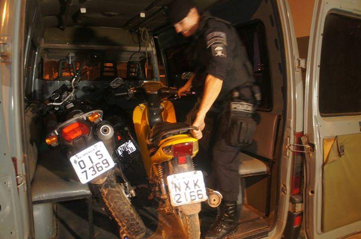 451ed3175dd9e Policia Militar Recupera trés Motos Roubadas