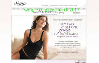 free Soma Intimates coupons march 2017