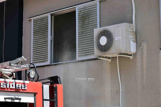 Πυκνοί καπνοί σε διαμέρισμα στο Ναύπλιο κινητοποίησαν την πυροσβεστική