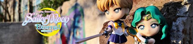 Review de las Figuarts Mini de Urano y Neptuno de Sailor Moon Eternal - Tamashii Nations