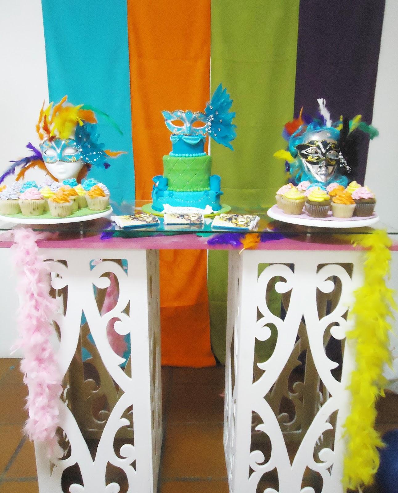 Beula decoraciones decoracion de eventos tematicos e - Mascaras venecianas decoracion ...