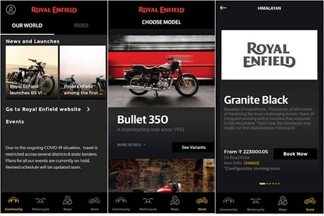 Now book a Royal Enfield through mobile app: Stepwise process, benefits listed!