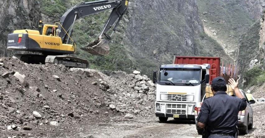 61 carreteras están restringidas y 10 interrumpidas en el país, informó el Ministerio de Transportes y Comunicaciones [VIDEO]