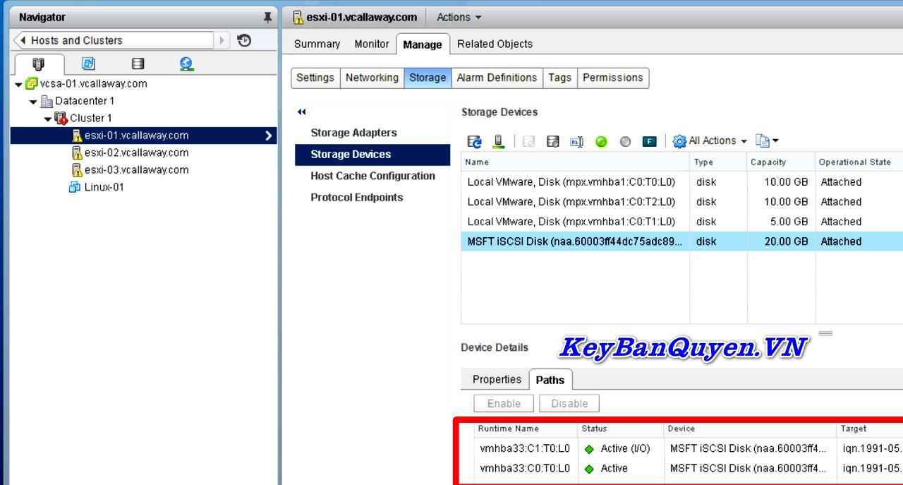 Tài liệu Học vSphere 6.5 Foundations : Cấu hình vSphere Storage .