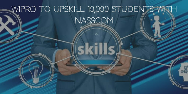 Wipro to upskill 10,000 students with Nasscom