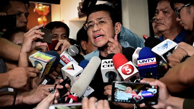 President Duterte vows to expose Maria Ressa as a 'fraud': You will have a dose of your own medicine,""