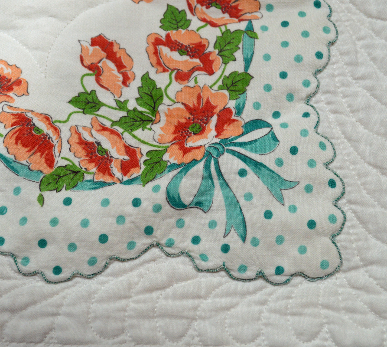 patterns vintage handkerchief free
