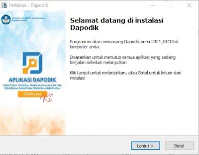 Download Cara Install dan Registrasi Aplikasi Dapodik Terbaru Versi 2021