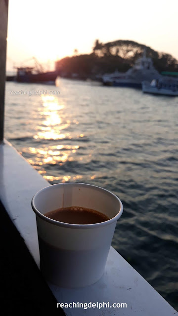 reaching delphi coffee
