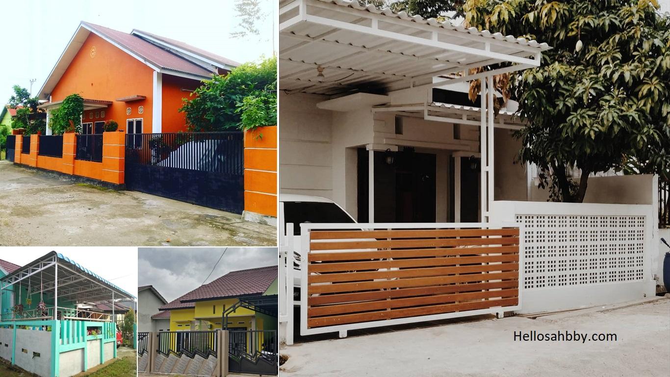 6 Kumpulan Model Pagar Minimalis Yang Elegan Dan Cocok Untuk Rumah Type 36 Helloshabby Com Interior And Exterior Solutions