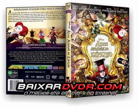 Alice Através do Espelho (2016) DVD-R Oficial
