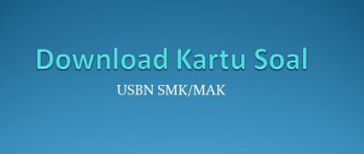 Format Kartu Soal USBN SMK/MAK Tahun Pelajaran 2018/2019
