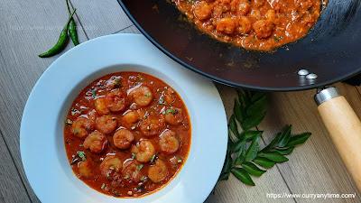 Prawns / Shrimp Curry
