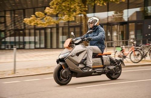 Electric bike made by BMW CE 04