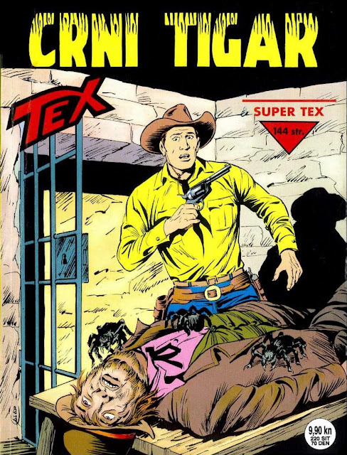Crni Tigar (SD) - Tex Willer