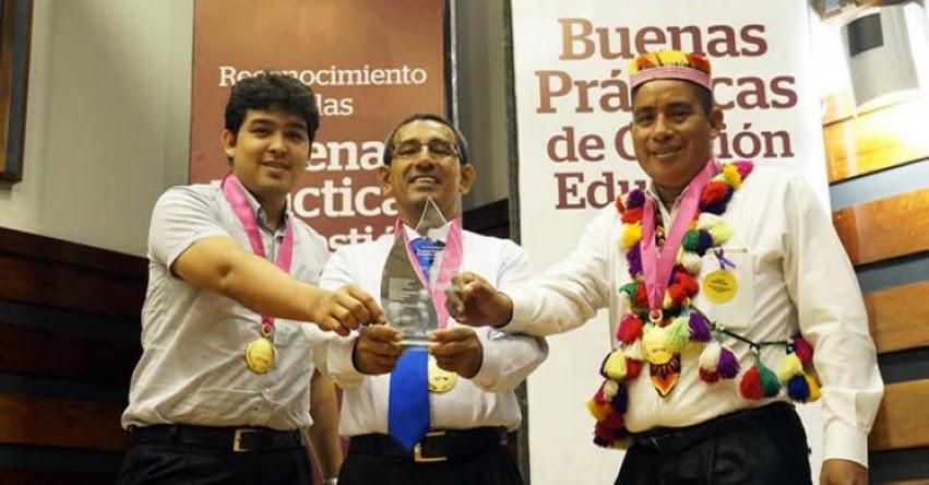 MINEDU seleccionó 17 finalistas del Concurso de Buenas Prácticas de Gestión Educativa en las DRE y UGEL - www.minedu.gob.pe
