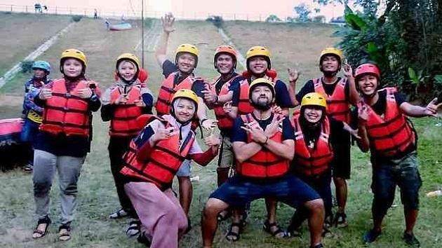 Paket Outbound Rafting Pengalengan Bandung Selatan